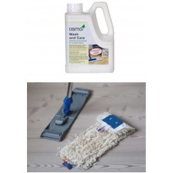 DC053 kit Clean & care Element 7 hardwax finishes; natural, grey, white or dark (E7 KJ, DC), starter kit  (DC)