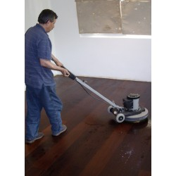 DC027 kit (e). Double oiling Element 7 MA natural, dark, nero  floor kit, work with buffing machine 96 to 120m2.  (DC)