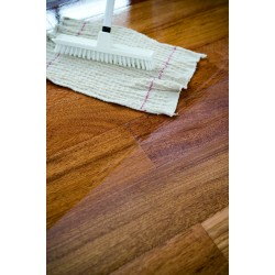 DC030 kit (f): Commission a classic oiled wood floor kit (natural Woca Maintenance Oil), work by hand, 76 to 95m2  (DC)