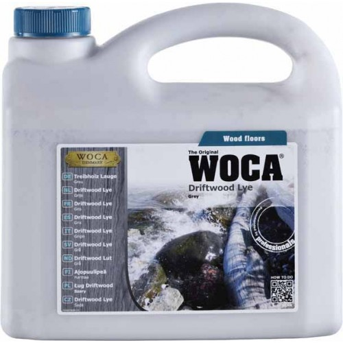 Woca Driftwood Lye Grey 2.5 L 500279A  (DC)