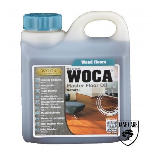 Woca Master Floor Oil, Natural 6ltr total; box of 6 x 1L (WF) 522072AA