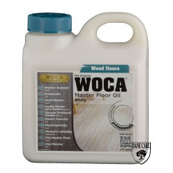 Woca Master Floor Oil,, white 6ltr total; box of 6 x 1L (WF), 522572AA