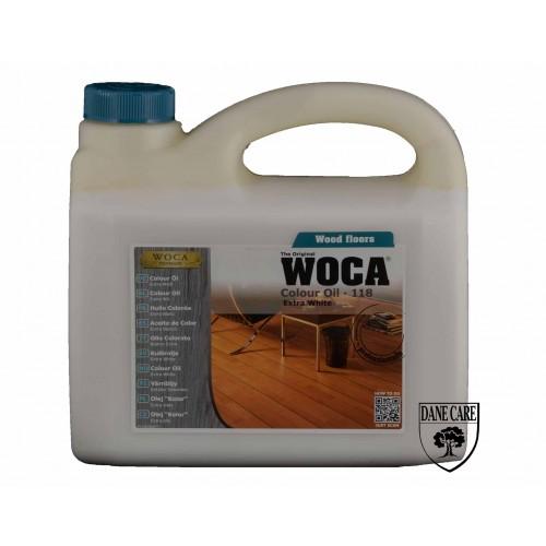 Woca Colour Oil Extra White 118 10ltr total; box of 4 x 2.5L (WF) 531825A
