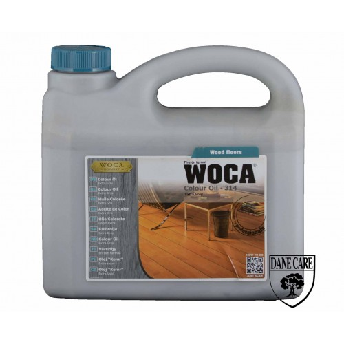 Woca Colour Oil Extra Grey 314 2.5L 533145A  (DC)
