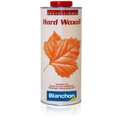 Blanchon HARD WAXOIL (hardwax) 1 ltr (four 0.25 ltr cans) NATURAL 04127085 (BL)