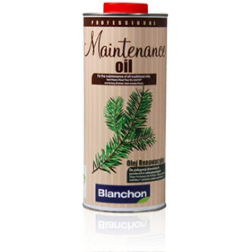 Blanchon MAINTENANCE OIL 4 ltr (four 1 ltr cans) natural 01709017 (BL)