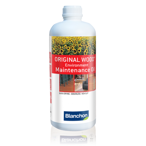 Blanchon ORIGINAL WOODTM ENVIRONMENT  10 ltr (two 5 ltr cans) MAINTENANCE OIL  colourless 05770006 (BL).