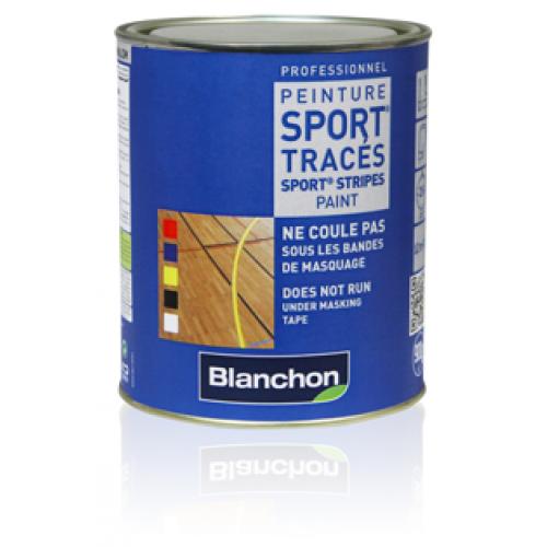 Blanchon SPORT® Stripes Paint  5.4 kg (six 0.9 kg pots) red 02106143 (BL)