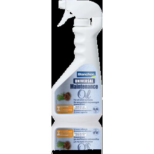 Blanchon UNIVERSAL MAINTENANCE OIL SATIN 4 ltr (four 1 ltr cans) 02110232 (BL)