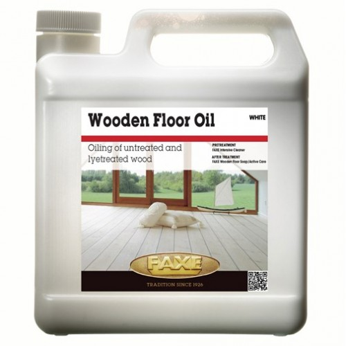 Faxe Wooden Floor Oil White 2.5L E14183 027607292250GB (DC)