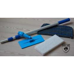 Kit Saving: DC175 Doodlebug Lye & Soap applicator (doodlebug, its handle, 2 white pads and a scrub mop head) (DC)