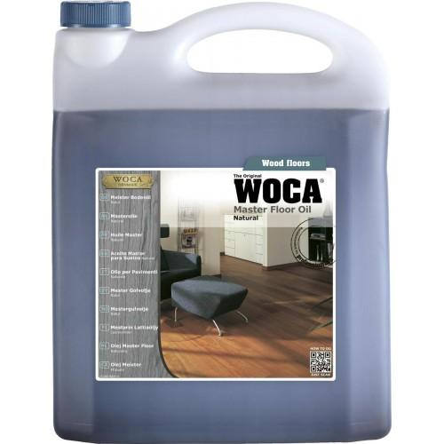 Woca Master Floor Oil, Natural 20ltr total; box of 4 x 5L (WF) 522075AA