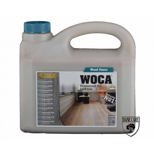 Woca Diamond Oil, Sand Grey 10ltr total; box of 4 x 2.5L (WF) 535325AA