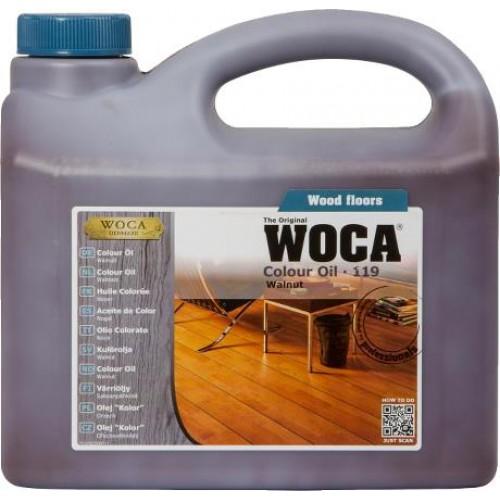 Woca Colour Oil Walnut 119 2.5L 531925A  (DC)