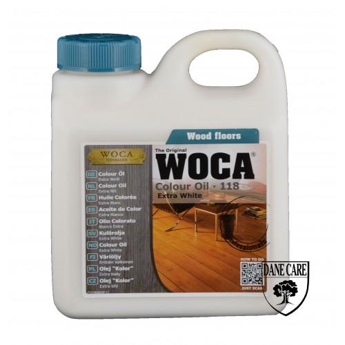 Woca Colour Oil Extra White 118 1L 531800A  (DC)