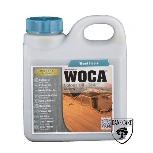 Woca Colour Oil Extra Grey 314 1L 533140A  (DC)