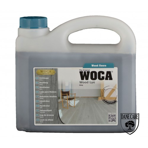 Woca Wood Lye Grey 10ltr total; box of 4 x 2.5L (WF) 500237A