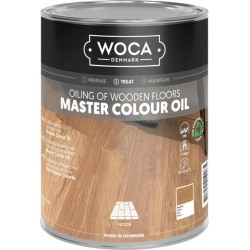 Woca Master Colour Oil white 1ltr 522572AA  (DC)