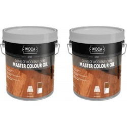 TRADE PRICE! Woca Master Colour Oil White 10ltr total; box of 2 x 5L 522575AA (DC)