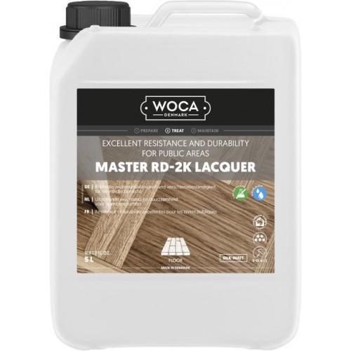 Woca Master RD 2K Lacquer with ISO Hardener, Silk-Matt, Glanz 20, 5L 690141AA (HA)