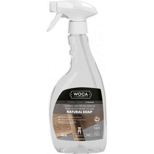 Woca Natural Soap White in Spray 750ml 510901AA  (DC)